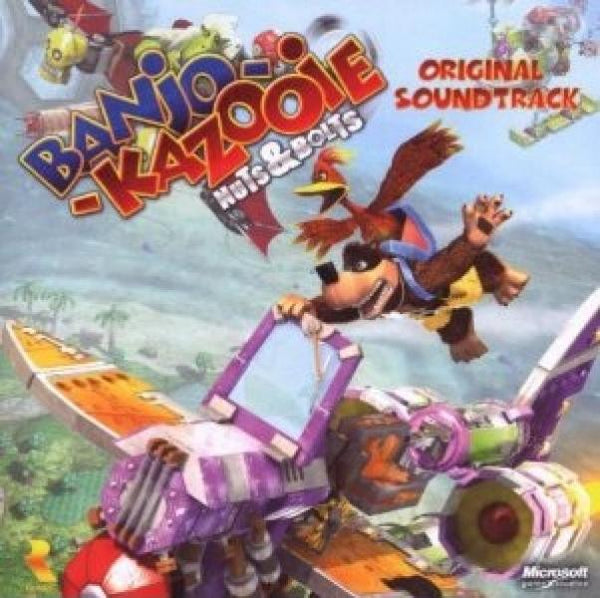 CD - Banjo Kazooie - Nuts and Bolts - Original Soundtrack - NEW