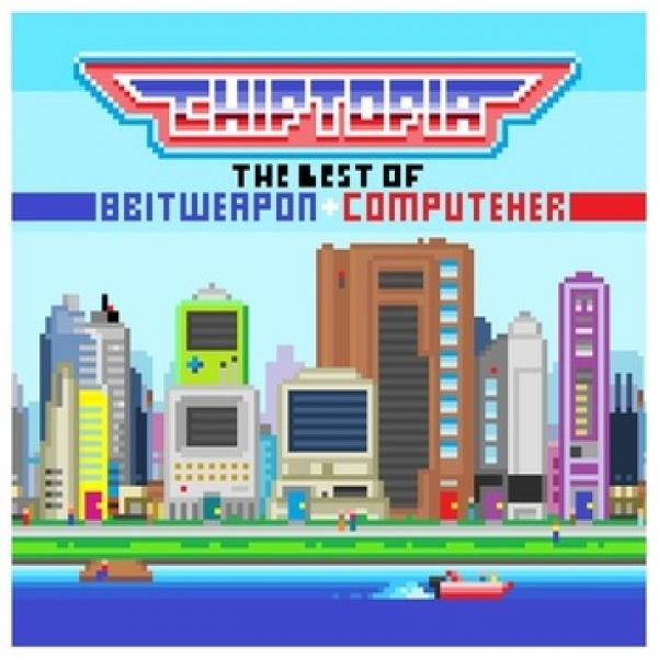 CD - 8 Bit Weapon & ComputeHer - Chiptopia - The Best of 8 Bit Weapon & ComputeHer - NEW