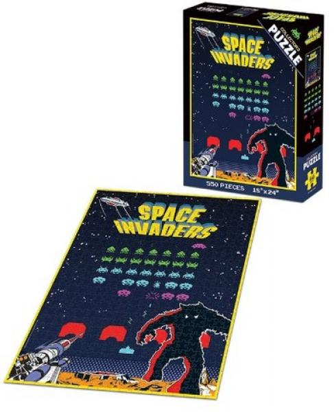 BG Puzzle - Space Invaders - 550 piece - NEW
