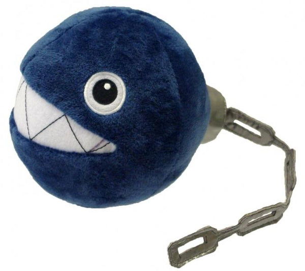Plush - Nintendo - Super Mario - Chain Chomp - Blue - 6 in