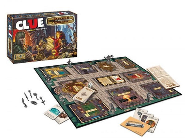 BG CLUE - Dungeons and Dragons Edition - NEW