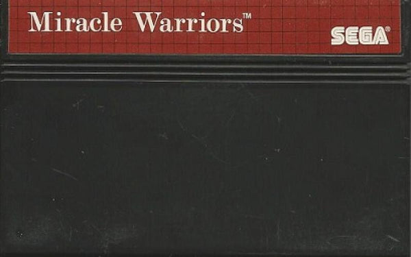 SMS Miracle Warriors - Seal of the Dark Lord