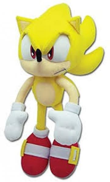 Plush - Sonic the Hedgehog - Super Sonic - yellow - 12 in