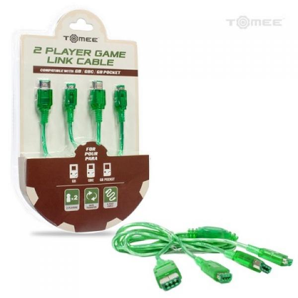 GB GBC GBP Link Cable - 2 Player (3rd) NEW - Tomee - green
