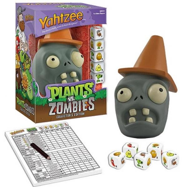 BG Yahtzee - Plants Vs Zombies - Collectors Edition - NEW