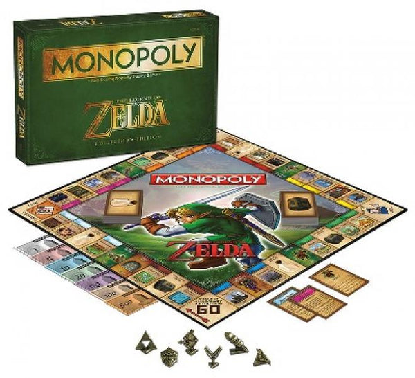 BG Monopoly Board Game - Nintendo - ZELDA Edition 2014 - NEW