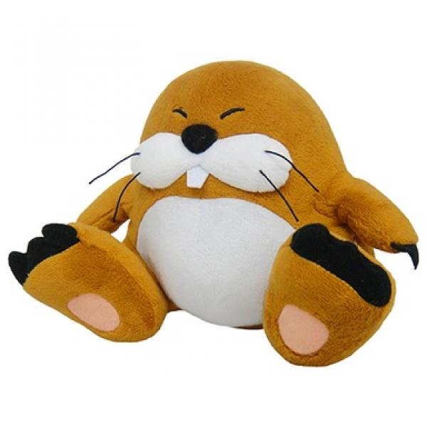Plush - Nintendo - Super Mario - Monty Mole - brown - 6 in
