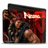 Gamer Wallet - Street Fighter - Ryu vs Akuma action pose - Bifold Wallet - NEW