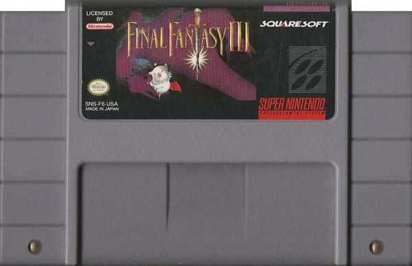 SNES Final Fantasy FF III 3