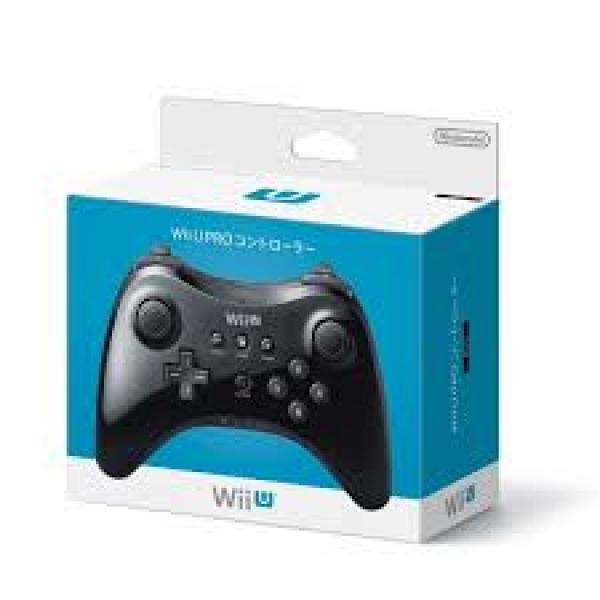 Wii U Pro Dual Analog Controller (1st) - Wireless  - black - NEW Import
