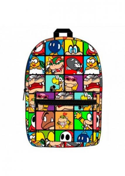 Gamer Bags - Backpack - Nintendo - Mario Bros Enemies