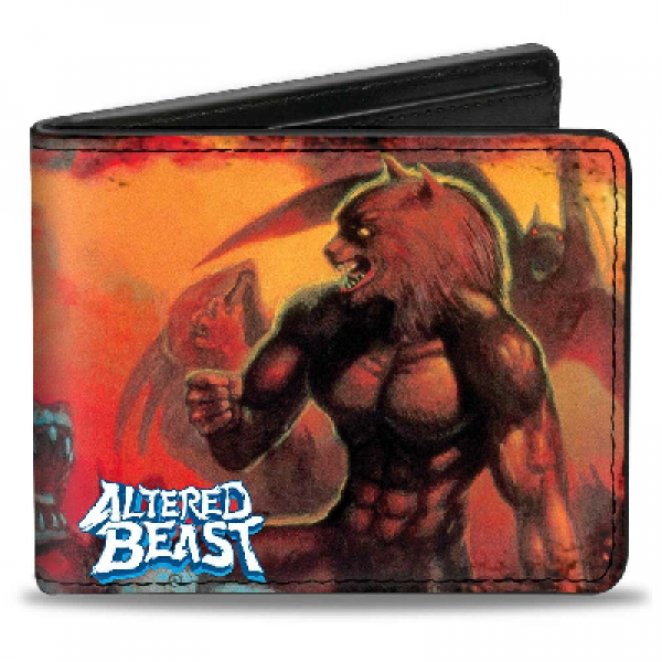 Gamer Wallet - SEGA - Altered Beast box cover art - bifold wallet - NEW