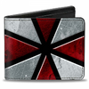 Gamer Wallet - Resident Evil - bifold wallet - Umbrella - black red white - NEW