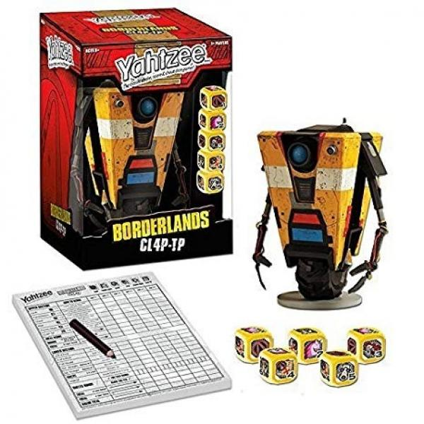 BG Yahtzee - Boarderlands CL4P-TP - Collectors Edition - NEW