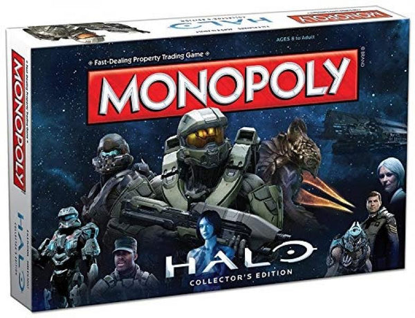 BG Monopoly Board Game - Halo - Collectors Edition - NEW