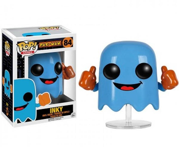 Gamer Toys - Action Figure - POP Vinyl - Pac Man - Inky - NEW