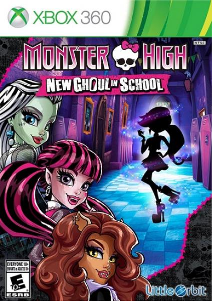X360 Monster High - New Ghoul in School