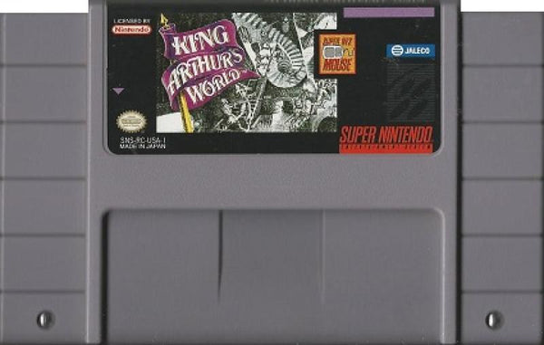 SNES King Arthurs World - game only (no mouse)