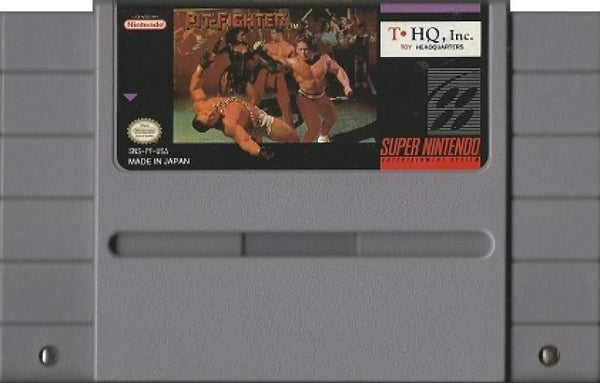SNES Pit Fighter