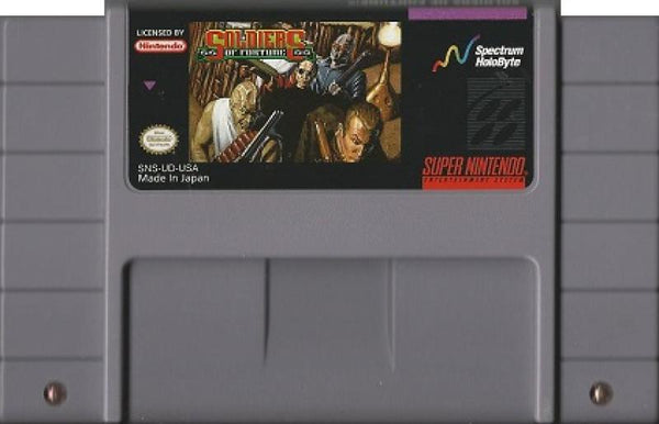 SNES Soldiers of Fortune