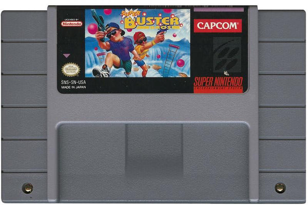 SNES Super Buster Bros