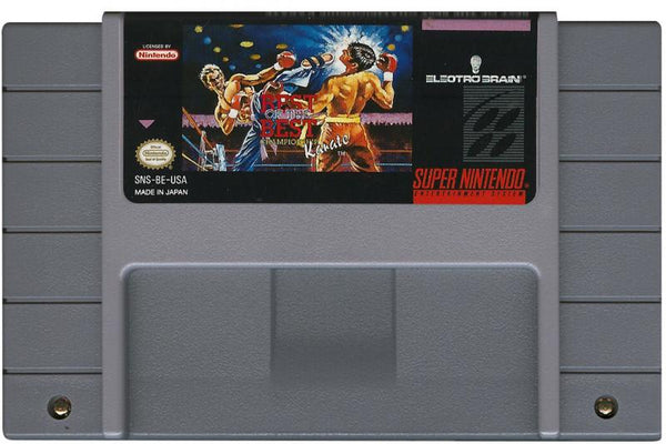 SNES Best of the Best - Championship Karate