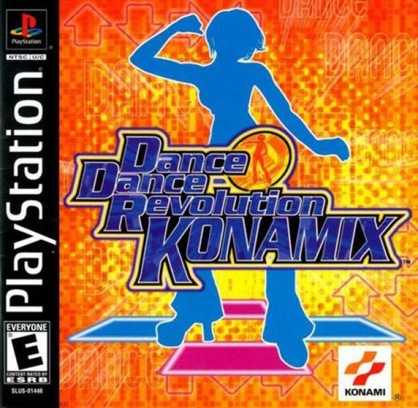 PS1 Dance Dance Revolution DDR - Konamix