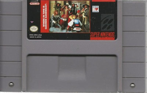 SNES Where in Time is Carmen Sandiego