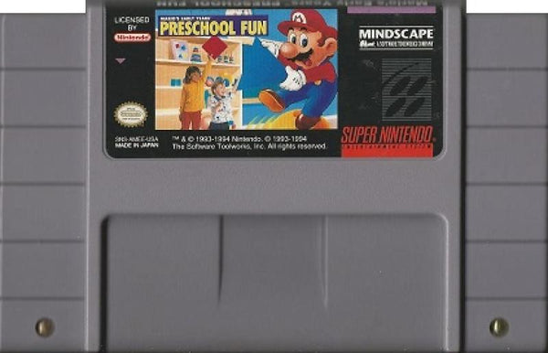 SNES Marios Early Years - Preschool