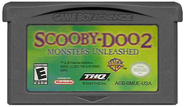 GBA Scooby Doo 2 - Monsters Unleashed
