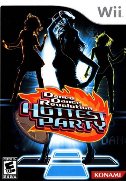 Wii Dance Dance Revolution DDR - Hottest Party Wii - Disc only