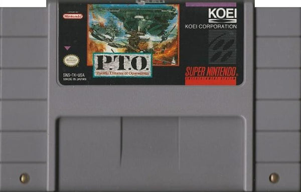 SNES PTO - Pacific Theater of Operations