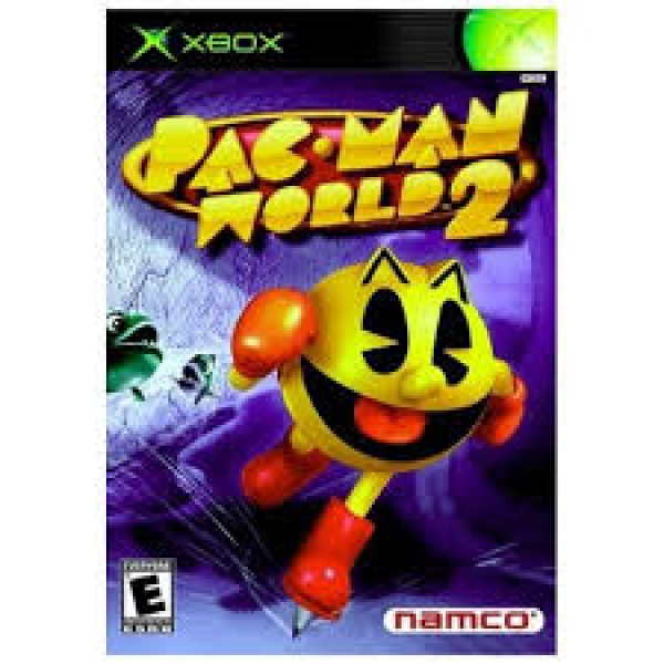Xbox Pac Man World 2 Game Over Videogames
