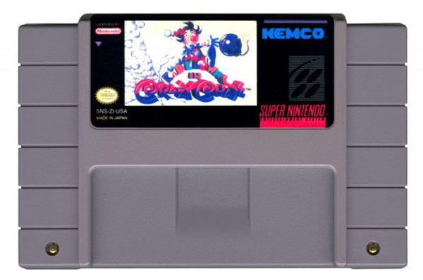 SNES Kid Klown in Crazy Chase