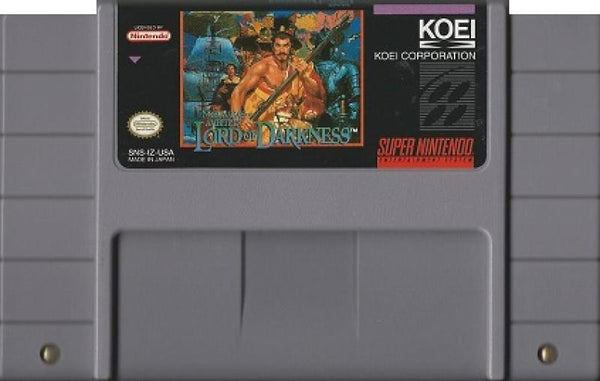 SNES Nobunagas Ambition - Lord of Darkness
