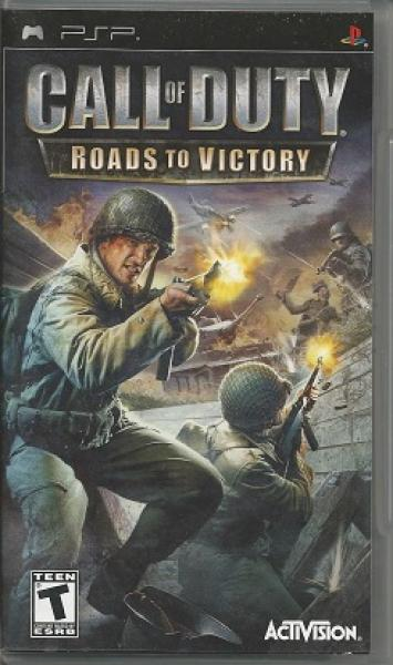 PSP Call of Duty - Roads to Victory