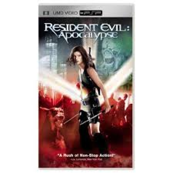 PSP UMD Movie - Resident Evil - Apocalypse