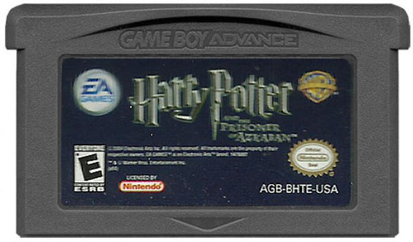 GBA Harry Potter HP - Prisoner of Azkaban