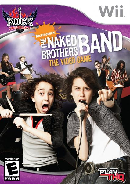 Wii Naked Brothers Band - the video game