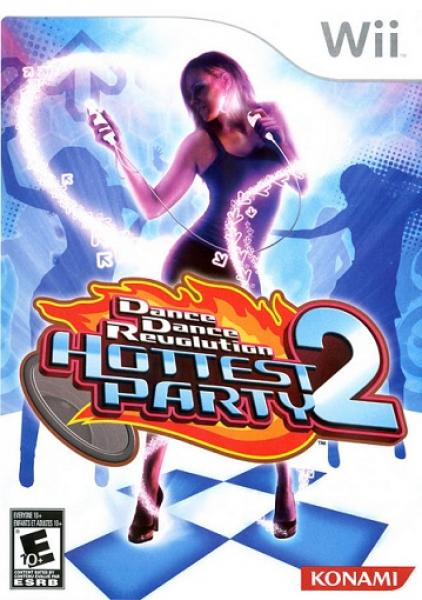 Wii Dance Dance Revolution DDR - Hottest Party 2 - Game ONLY