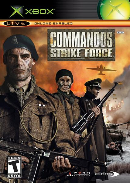 XBOX Commandos - Strike Force