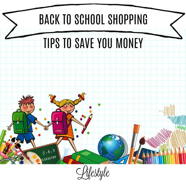 Back 2 School Shopping : How to Save Money