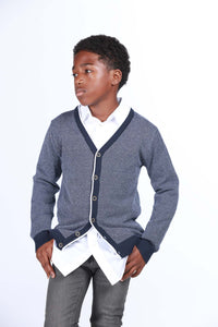 Varsity Soft Knit Cardigan - Playground Couture