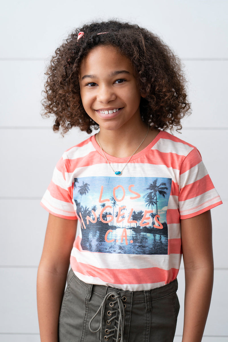 California Love T-Shirt - Playground Couture