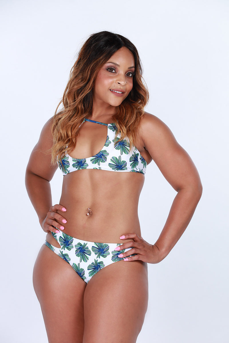 Tropical Mom Swimsuit Top - Playground Couture