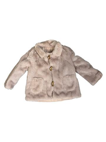 Kelly Faux Fur Jacket - Playground Couture