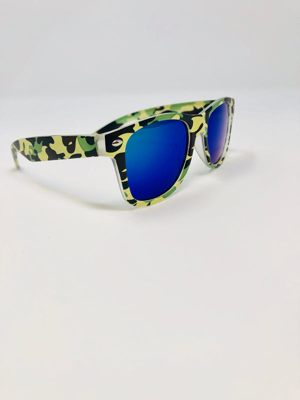 Retro-square Sunglasses - Playground Couture