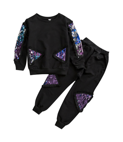 Sequin Jogger Set - Playground Couture