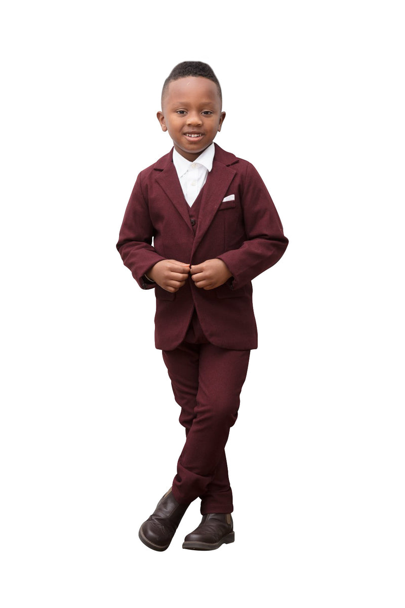 Couture Boy's 4 piece Suit - Playground Couture