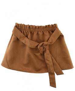Karen Faux Suede Skirt - Playground Couture